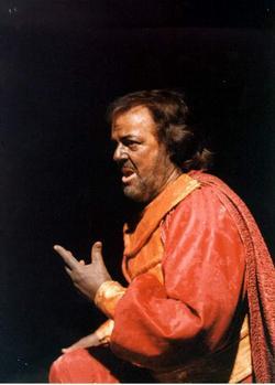 Michael Renier  (Otello) Divadlo F. X. Šaldy Liberec