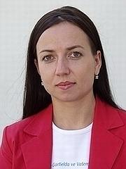 Herečka Tereza Novotná