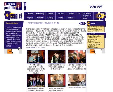 Portál v grafice z roku 2000