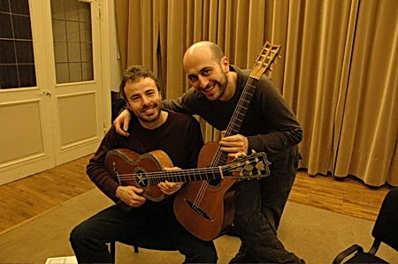 SoloDuo - L.Micheli a M.Mela na kytarovém festivalu