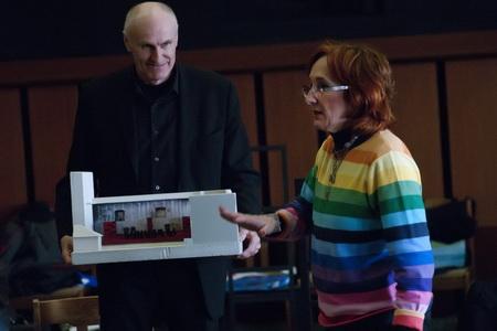 Lucie Bělohradská a Martin Hilský