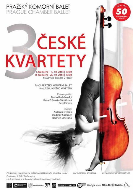 3 české kvartety - Slovanský kvartet