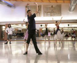Ze zkoušky baletu Giselle