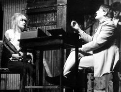 J. Třebická a P. Landovský - Zločin a trest režie E. Schorm 1966