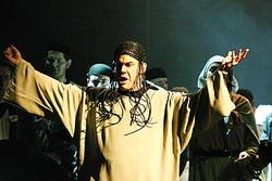Z inscenace opery SAMSON A DALILA