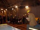 Hlediště, jeviště, osvětlení hlavní i nouzové a představení může začít. Co na tom, že jsme 30 metrů pod zemí.