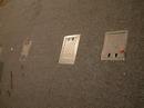 Kryty na zásuvkách pro reflektory
