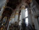 Kostel sv. Jiljí – pohled do stropu lodě