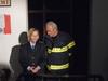 Lucie Juřičková a Alois Švehlík jako zástupci hasičského cechu
