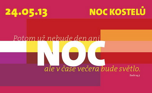 Noc kostel 2013