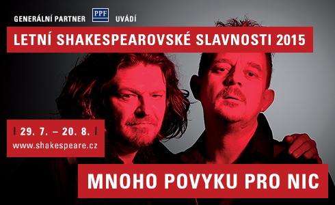 Letn� shakespearovsk� slavnosti 2015