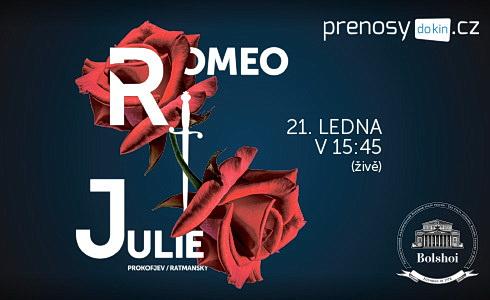 Romeo a Julie (Bolšoj balet živě)