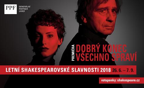 Letní  Shakespearovské slavnosti 2018