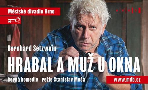 Hrabal a muž u okna (Městské divadlo Brno)